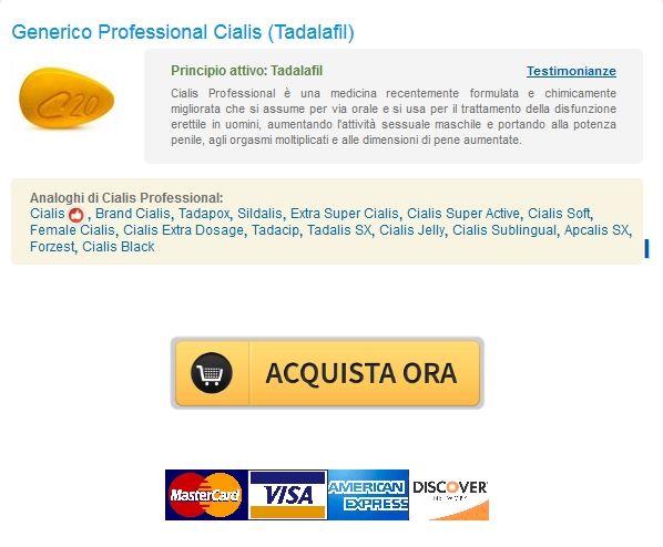 Generico Professional Cialis Tadalafil Acquista. Farmaci generici Online Pharmacy