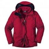 Jack Wolfskin AURORA WOMEN indian red jacket, ladies textile abc: M