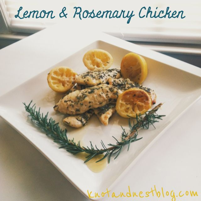lemon and thyme with lemon and thyme lemon rosemary chicken breasts ...
