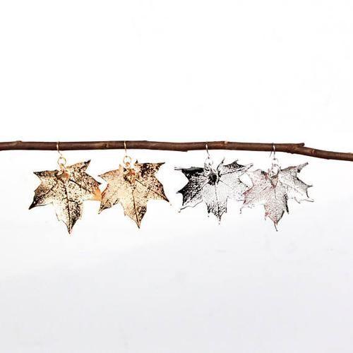 Birch Jewellery - Maple Leaf Earrings