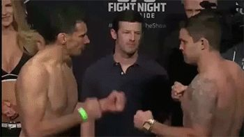 Sean O'Connell does the funniest UFC weigh ins