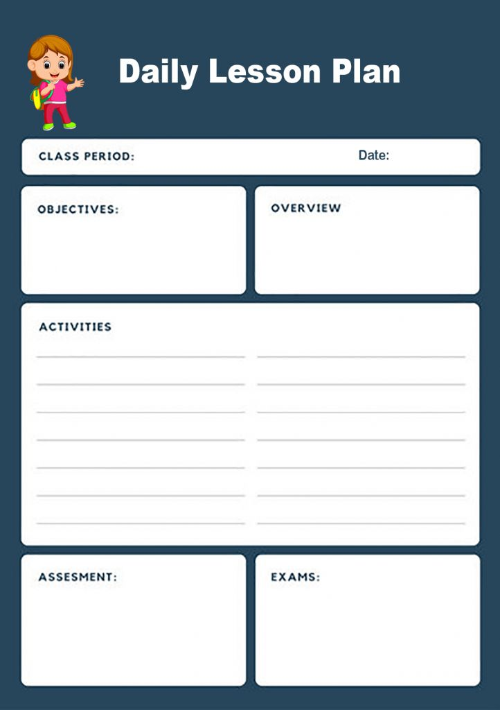 Free Lesson Plan Templates Word PDF Format Download in