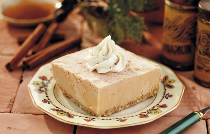 Cinnamon Pumpkin Dessert - Grandma served this one Thanksgiving when she wanted something a little different. It became our favorite.: Pumpkin Recipes, Pumpkin Desserts, Pumpkin Cinnamon, Pumpkin Desert, Pumpkin Ice Cream, Cinnamon Pumpkin, Pumpkin Quotes, Pumpkin Pies, Ice Cream Desserts