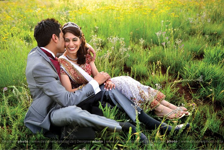 Sweet kisses in yellow fields | indian weddings Designer photo