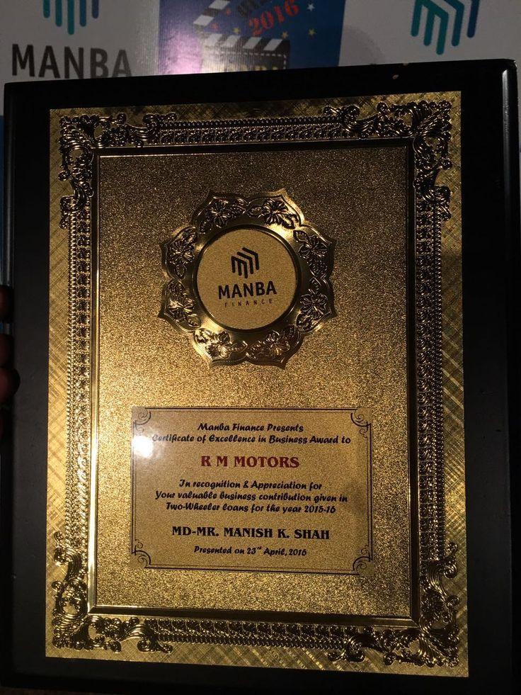 Best dealer of the year !!  #Achievement #Award #wowmoment #Manba