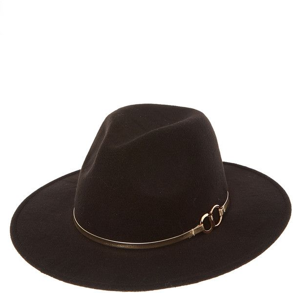 Western Flat Brim Black Hat ❤ liked on Polyvore featuring accessories, hats, flat brim hats, cowgirl hats, flat cowboy hat, brimmed hat and western hats