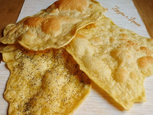 PANE ARMENO | ricetta senza lievito