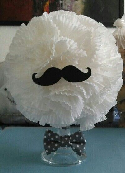 I created this for my sisters babyshower bow tie theme
