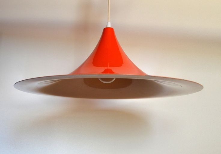 Polska Sufitowa Lampa metalowa żyrandol z lat 60 - ShadenInteriorDesign - Lampy sufitowe