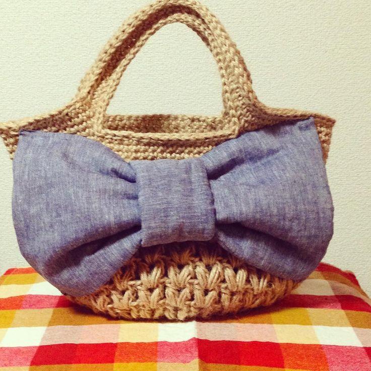 麻紐バッグの基本の編み方&+αのアレンジ集 | Handful