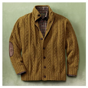 Another favorite sweater that i do not own, this one from Orvis. Mens Cardigan  SweatersCardigansMen CasualElbow PatchesBowtiesTweedPlaidMen's FashionChess