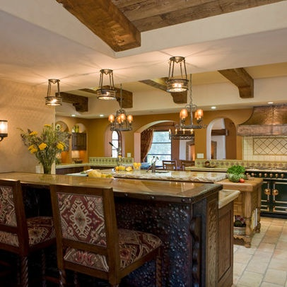Best 25 hacienda kitchen ideas on pinterest spanish for Hacienda design ideas