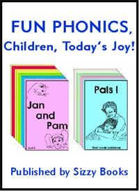 Fun Phonics.  I have used these books in my Montessori classroom for the past 12 years!  They don't sell them anymore, but you can download them for free!