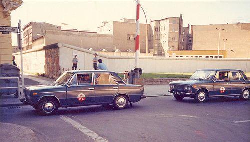Zhiguli (Lada) Checkpoint Charlie Berlin 1980s