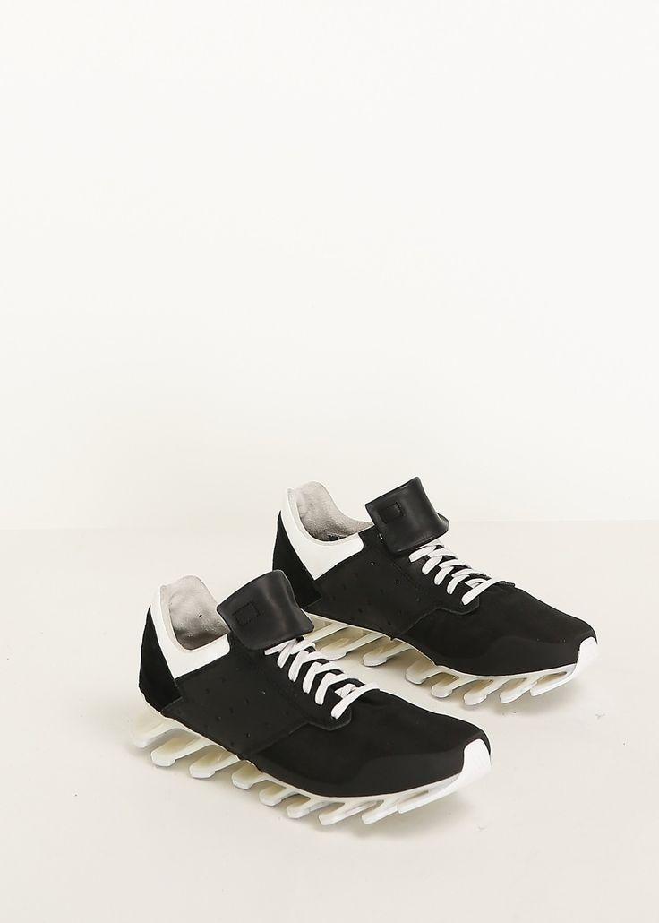 Rick Owens x Adidas Spring Blade Sneaker in Black