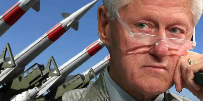 Flashback: Bill Clinton Gave China Missile Technology. Democrats intermittently talk tough about our enemies -- but only after aiding & comforting them.