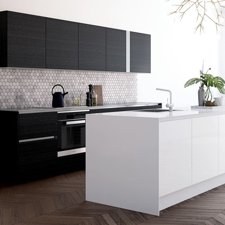 Exklusiva kök med rena linjer av hög kvalitet: Modell Athena | HTH