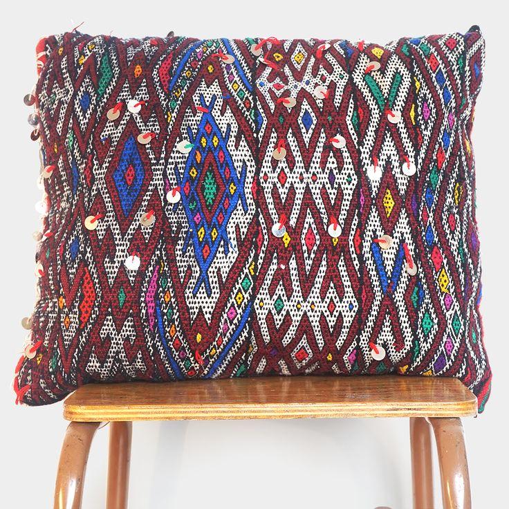 Vintage Berber kussen – Medium