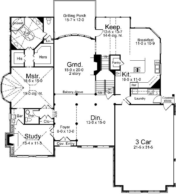 images about Favorite Houseplans on Pinterest   Plan Plan    European Style House Plans   Square Foot Home  Story  Bedroom and Bath  Garage Stalls by Monster House Plans   Plan