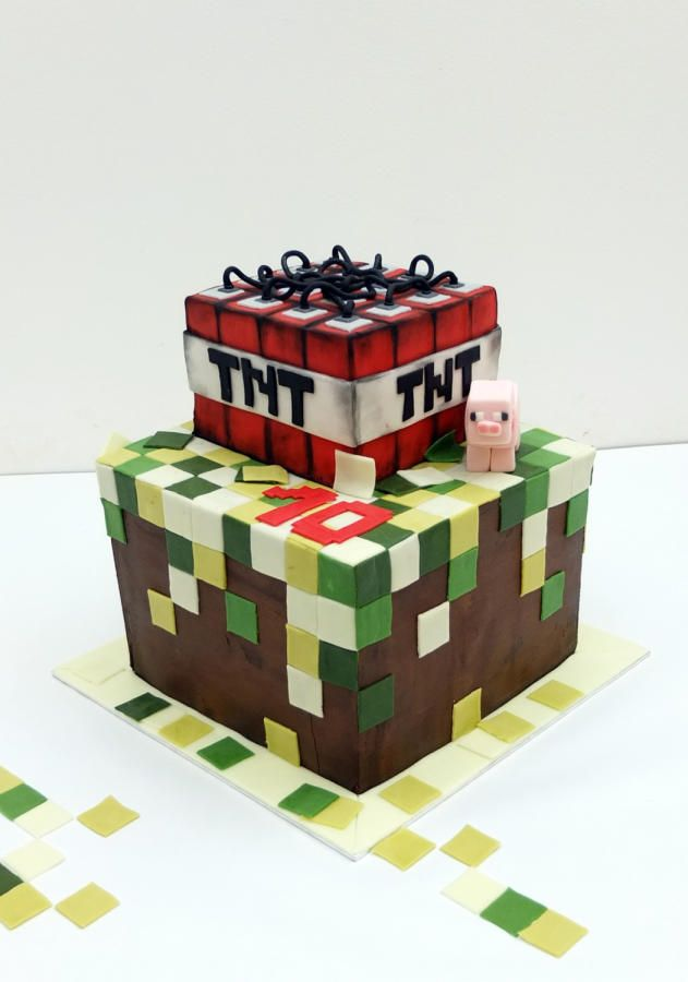 Minecraft - Cake by SWEET architect