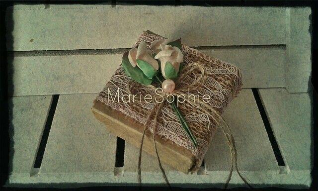 Bomboniera vintage box#www.mariesophie.gr