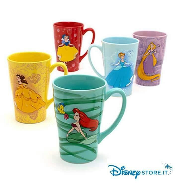 Le nuove tazze delle principesse by Disney store