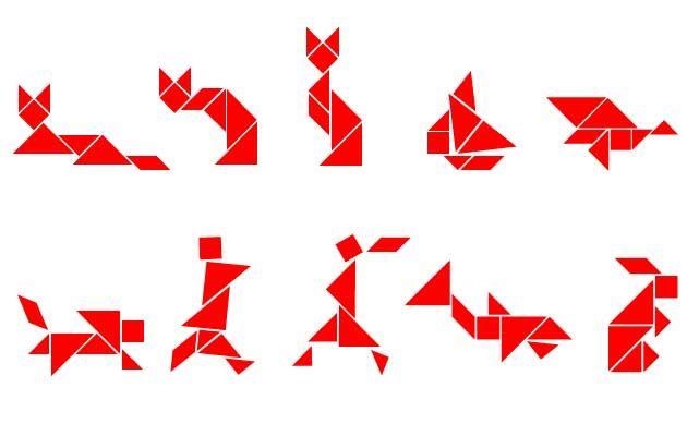 animaux tangram