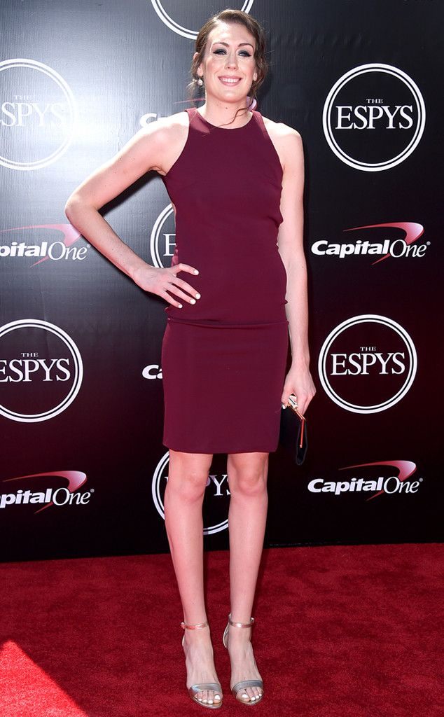 Breanna Stewart From 2016 Espys Red Carpet Arrivals