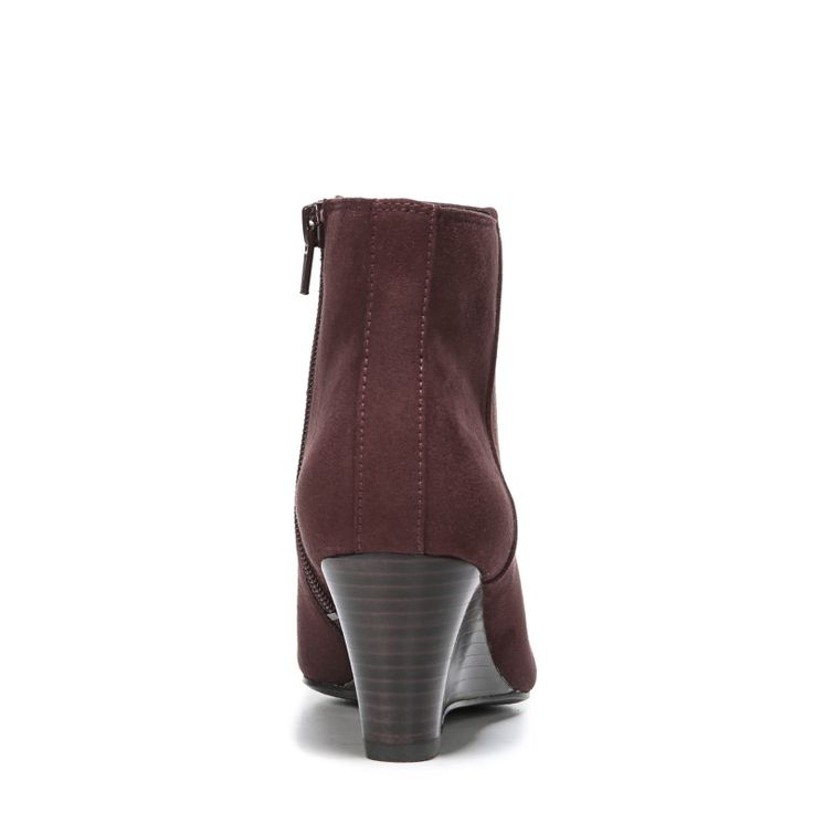 Naturalizer Women's Hilma Medium/Wide Wedge Booties (Bordo)