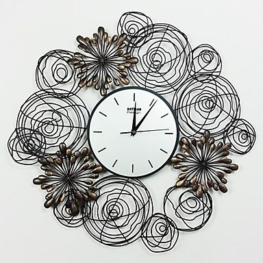 23.75 h reloj de pared del metal del estilo moderno - USD $ 89.99