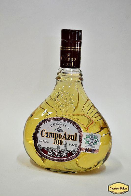 Tequila Campo Azul 100. | Tequilas Añejos | Pinterest ...