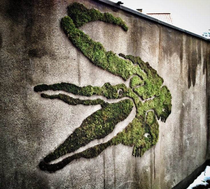 71 best moss graffiti images on pinterest gutter garden. Black Bedroom Furniture Sets. Home Design Ideas