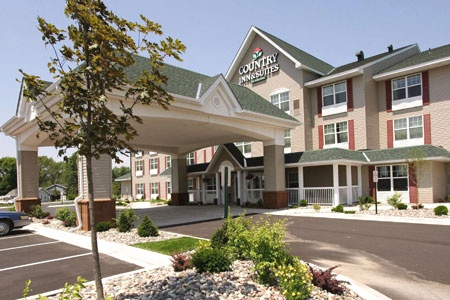 Country Inn & Suites St. Cloud East located on Hwy 10.  67 sleeping rooms and meeting space with a capacity of 40.