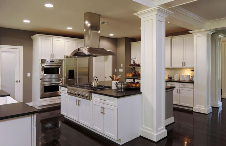 25  best ideas about kitchen columns on pinterest