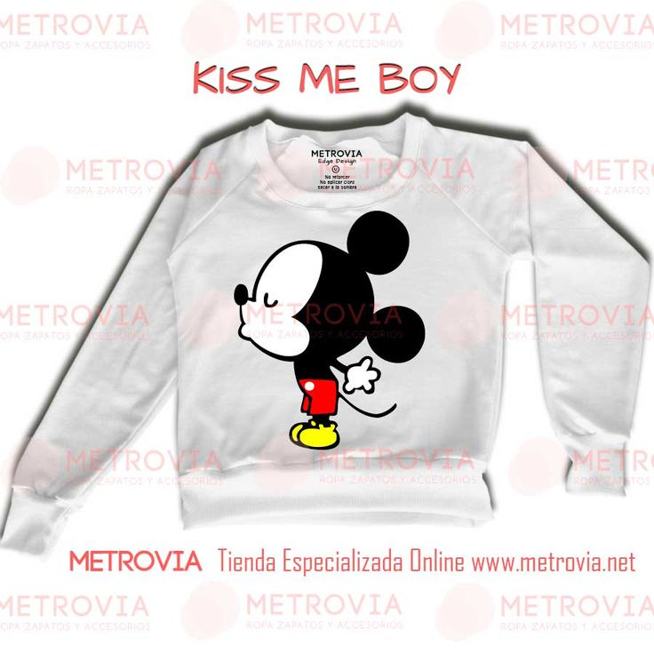 Baby Mickey Kiss Me Boy