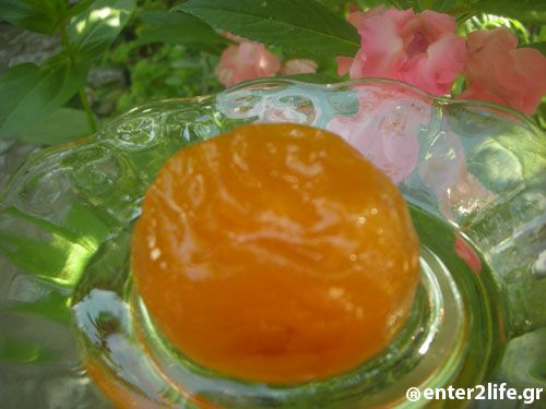 Βερίκοκο γλυκό του κουταλιού www.enter2life.gr