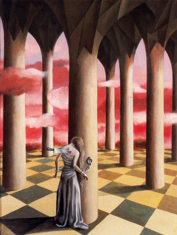Rheumatic Pain by Remedios Varo