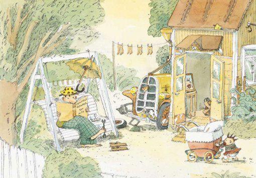 Finnish children's author and illustrator Markus Majaluoma.