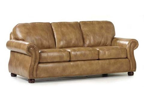 Barrington Leather Sofa by Randall Allan