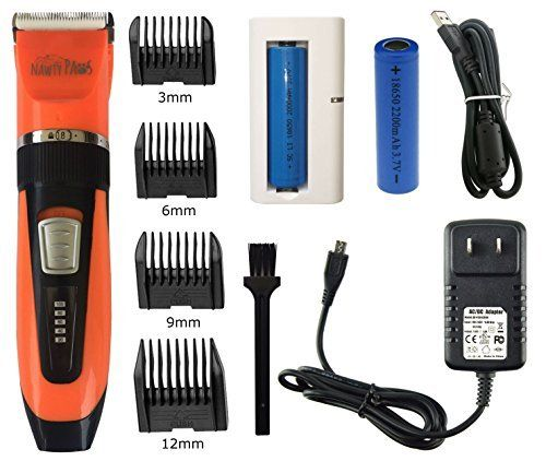 Keep your dog, cat or family pet trimmed, groomed and looking fabulous with our professional-grade animal grooming clippers. Just like us, your four-legged friends need to be trimmed regularly to keep their hair soft and free of tangles and mats. That's why we've created the versatile... more details available at https://perfect-gifts.bestselleroutlets.com/gifts-for-pets/for-cats/product-review-for-nawty-paws-pet-grooming-kit-hair-clipper-trimmer-for-pets-ideal-for-