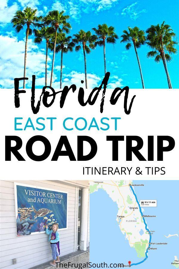 Tips Advice For An East Coast Florida Road Trip East Coast Road Trip Road Trip Florida Beach Road Trip