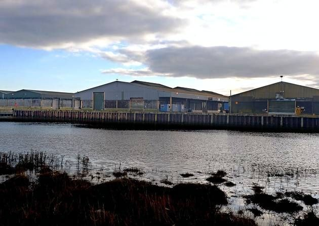 The former Rowhedge Port seen from Wivenhoe.