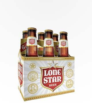 Lone Star - $10.99 Malted barley and corn extract giving a full natural flavor. 4.6% ABV
