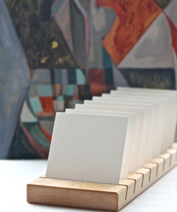 Articulos Similares A Tablero De Exhibicion De Joyeria O Portatarjetas De Visita Exhibicion De T Earring Card Display Greeting Card Display Diy Jewelry Display