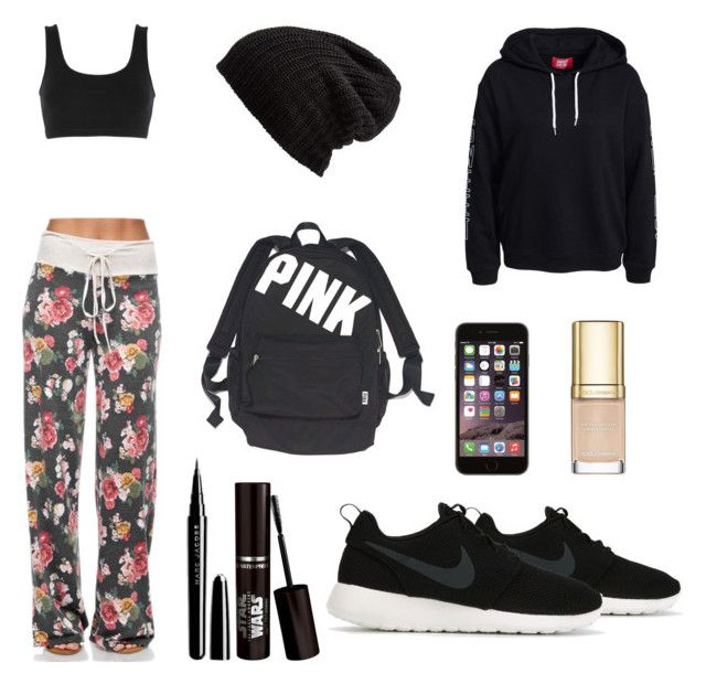 """Sexy to the gym."" by dianegoescu on Polyvore featuring adidas Originals, NIKE, Victoria's Secret, Free People, Marc Jacobs and Dolce&Gabbana"