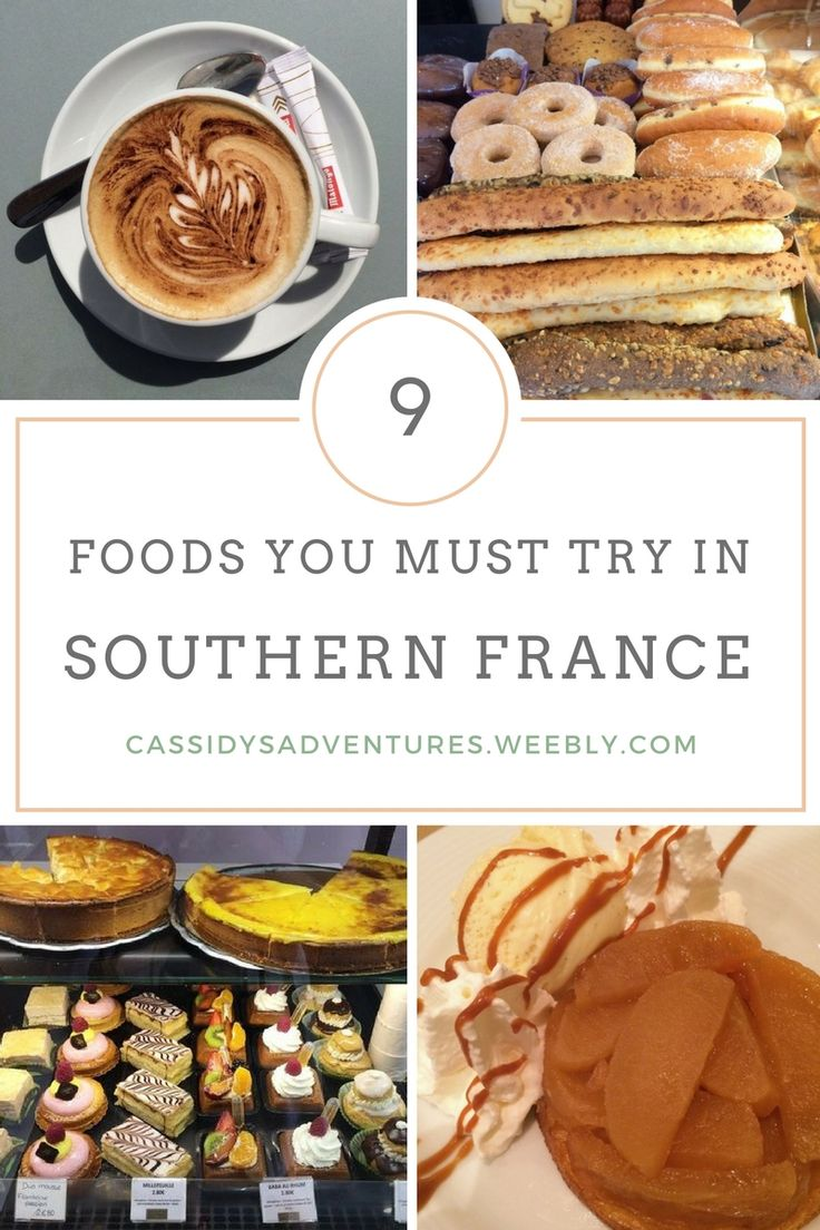 9 Foods You Must Try in Southern France