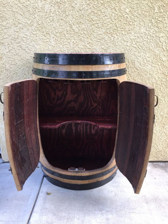 57 best Wine Barrel Ideas images on Pinterest