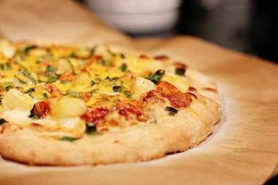 Рецепты пиццы с ананасами и курицей