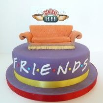 Friends Cake, TV show, Central Perk, inspired by FRIENDS