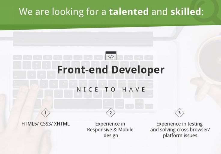 #Job opportunity in #cluj We are looking for a passionate, talented and skilled #frontendev  Apply here: https://www.design19.org/jobs